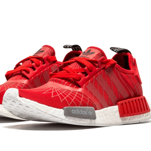 sneakers for cheap f6dff 65d11 Adidas NMD R1 runner w Lush Red S79385 38 2/3 EUR NWT